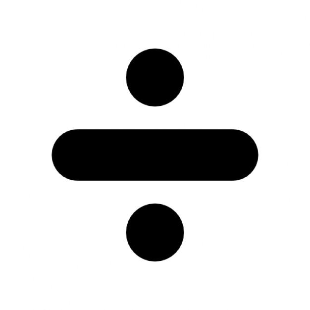 divide-symbol_318-8399